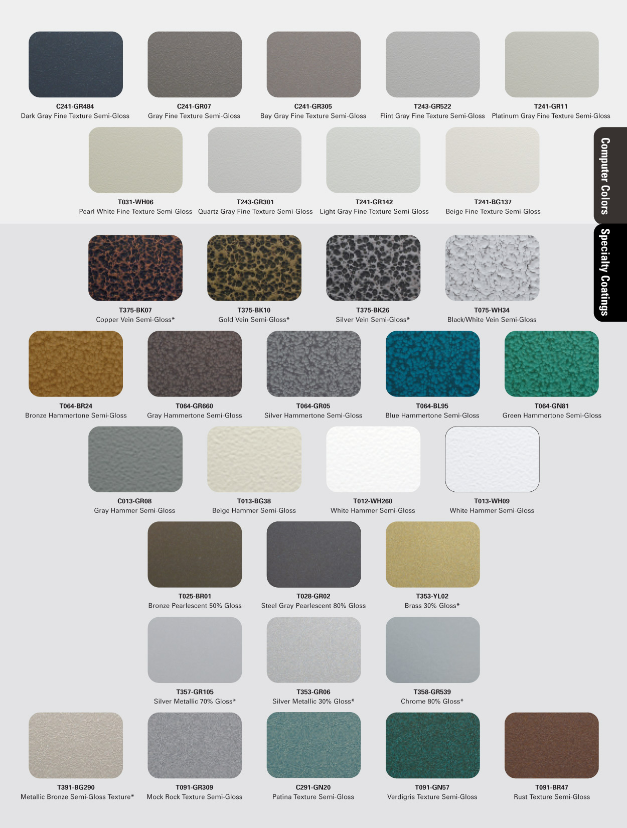 In-Stock Cardinal Powder Color Chart Page 3